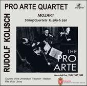 Kolisch-Pro Arte Rarities: Mozart – String Quartets, K. 589 & 590 (Live Historical Recordings) by Various Artists