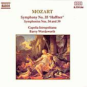 Play & Download Symphonies Nos. 34, 35 & 39 by Wolfgang Amadeus Mozart | Napster