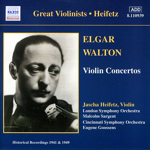 Play & Download Heifetz -  Violin Concertos by Various Artists | Napster