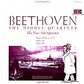 Play & Download Beethoven: The Middle Quartets (Digitally Remastered from the Original Concert-Disc Master Tapes) by Fine Arts Quartet | Napster