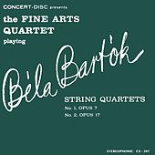 Bartók: String Quartets No. 1 & No. 2 (Digitally Remastered from the Original Concert-Disc Master Tapes) by Fine Arts Quartet