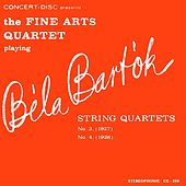 Bartók: String Quartets No. 3 & No. 4 (Digitally Remastered from the Original Concert-Disc Master Tapes) by Fine Arts Quartet
