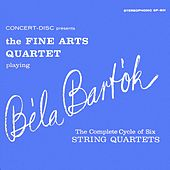Bartók: The Complete Cycle of Six String Quartets (Digitally Remastered from the Original Concert-Disc Master Tapes) by Fine Arts Quartet