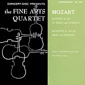 Play & Download Mozart: Horn Quintet, K. 407 & Oboe Quartet, K. 370 (Digitally Remastered from the Original Concert-Disc Master Tapes) by Various Artists | Napster