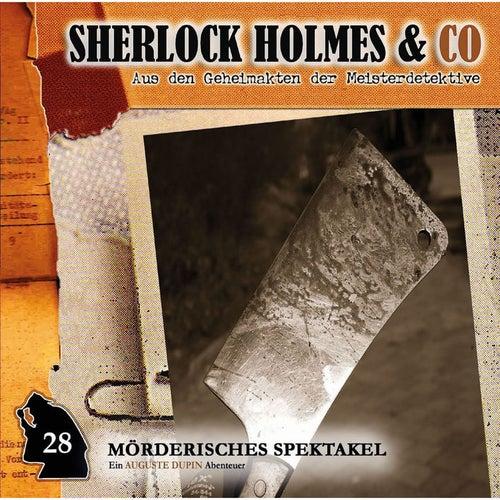 Folge 28: Mörderisches Spektakel von Sherlock Holmes & Co