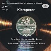 LP Pure, Vol. 31: Klemperer Conducts Schubert & Beethoven by Various Artists