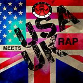 Play & Download USA Meets UK Rap by Various Artists | Napster