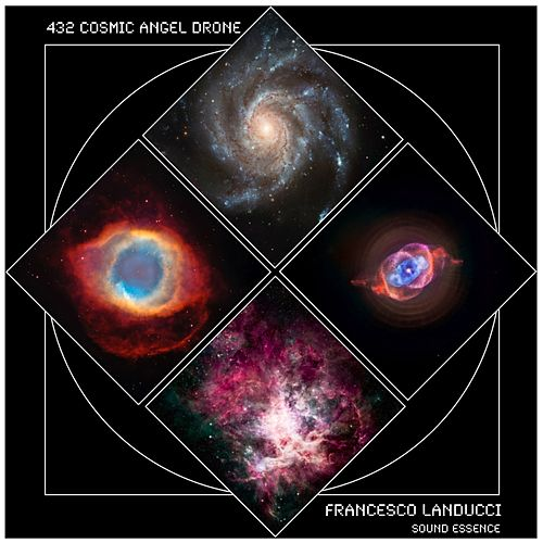 Play & Download 432 Cosmic Angel Drone by Francesco Landucci | Napster