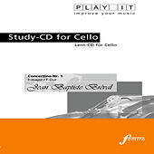Play & Download PLAY IT - Study-CD for Cello: Jean Baptiste Bréval, Concertino Nr. 1, F major / F-Dur by Various Artists | Napster