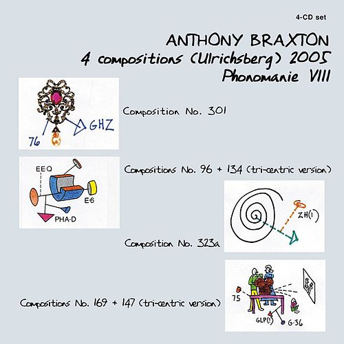 Play & Download 4 Compositions (Ulrichsberg) 2005 Phonomanie Viii by Anthony Braxton | Napster