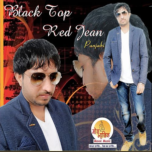 Black Top Red Jean by Pandeep Kumar