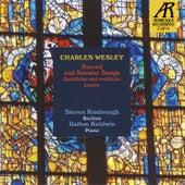 Charles Wesley: Sacred and Secular Songs