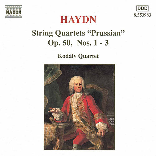 Play & Download String Quartets Op. 50, Nos. 1-3 by Franz Joseph Haydn | Napster