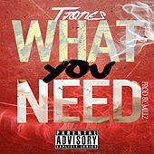 Play & Download What You Need by T. Jones | Napster