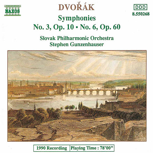 Symphonies Nos. 3 and 6 by Antonin Dvorak