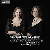 Mozart: Piano Concertos K. 413, K. 414 & K. 415 by Various Artists
