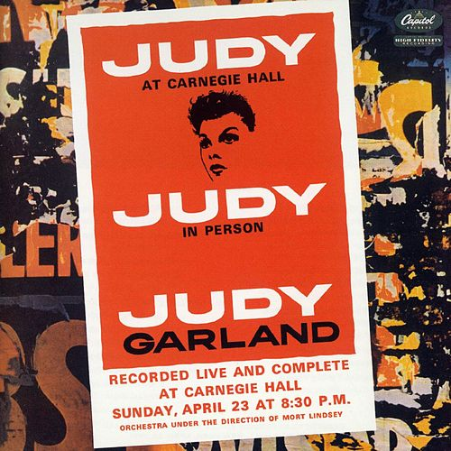 Judy At Carnegie Hall by Judy Garland