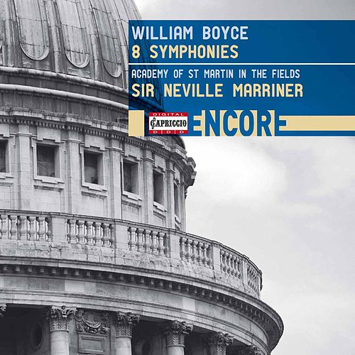 Boyce: 8 Symphonies de Academy Of St. Martin-In-The-Fields (1)