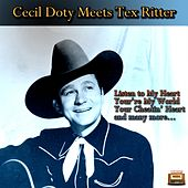 Cecil Doty Meets Tex Ritter von Various Artists