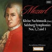 Mozart: Kleine Nachtmusik (Eine) - Salzburg Symphonies Nos. 1, 2 and 3 by Accademia Zilinian and Eduard Fischer