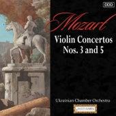 Mozart: Violin Concertos Nos. 3 and 5 by Various Artists