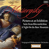 Play & Download Mussorgsky: Pictures at an Exhibition - Suite From Khovanshchina - A Night On the Bare Mountain by Volgograd Philharmonic Orchestra and Edward Serov | Napster