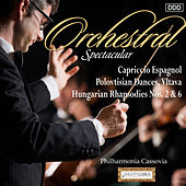 Orchestral Spectacular: Capriccio Espagnol, Polovtisian Dances, Vltava, Hungarian Rhapsodies Nos. 2 & 6 by Various Artists