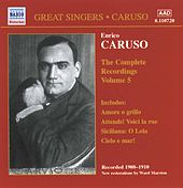The Complete Recordings Vol 5 by Enrico Caruso