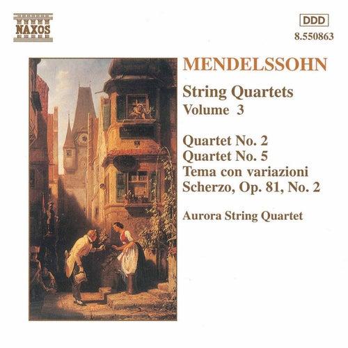 Play & Download String Quartets Vol. 3 by Felix Mendelssohn | Napster