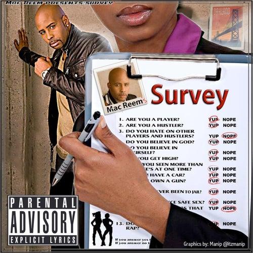 Survey by Mac Reem