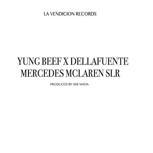 Mercedes McLaren SLR de Yung Beef