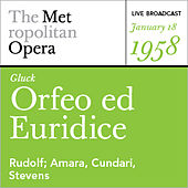 Play & Download Gluck: Orfeo ed Euridice (January 18, 1958) by Various Artists | Napster