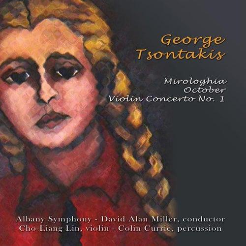 Tsontakis: Mirologhia; Violin Concerto  No. 1; October by Cho Liang Lin (violin) Albany Symphony