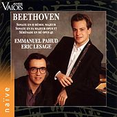 Beethoven: Flute Sonata, Horn and Piano Sonata & Serenade for Flute and Piano by Emmanuel Pahud
