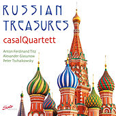 Play & Download Russian Treasures by Casal Quartett | Napster