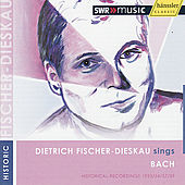 Play & Download Dietrich Fischer-Dieskau Sings Bach by Dietrich Fischer-Dieskau | Napster