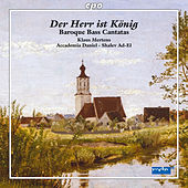 Der Herr ist König: Baroque Bass Cantatas by Various Artists