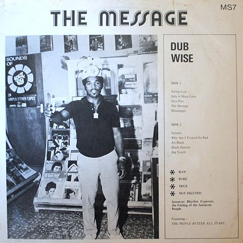 The Message Dubwise by Prince Buster