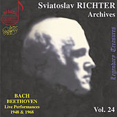 Play & Download Richter Archives, Vol. 24: Bach & Beethoven (Live) by Sviatoslav Richter | Napster
