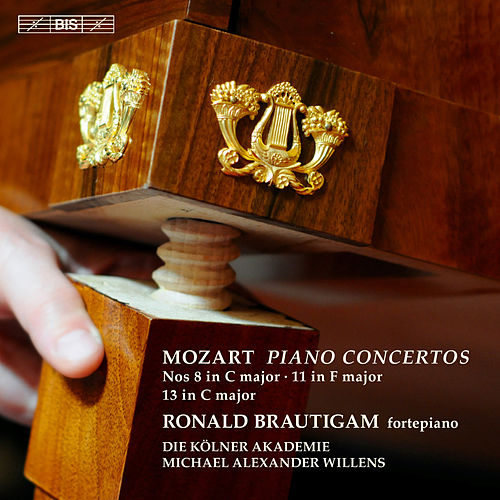 Mozart: Piano Concertos Nos. 8, 11 & 13 by Ronald Brautigam