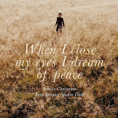 Play & Download Karin Rehnqvist: When I close my eyes, I dream of peace by Schola Cantorum | Napster