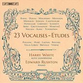 Play & Download 23 Vocalise-études (Arr. for Alto Saxophone & Piano) by Harry Kinross White | Napster