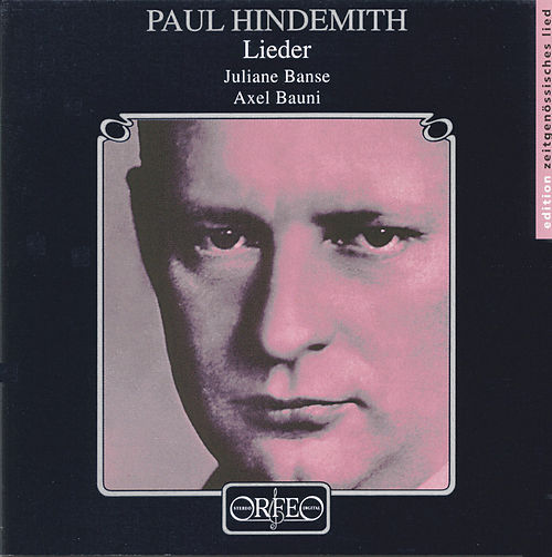 Hindemith: Lieder by Juliane Banse