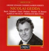 Bach, Schubert, Fauré, Poulenc, Reutter & Strauss: Lieder by Nicolai Gedda