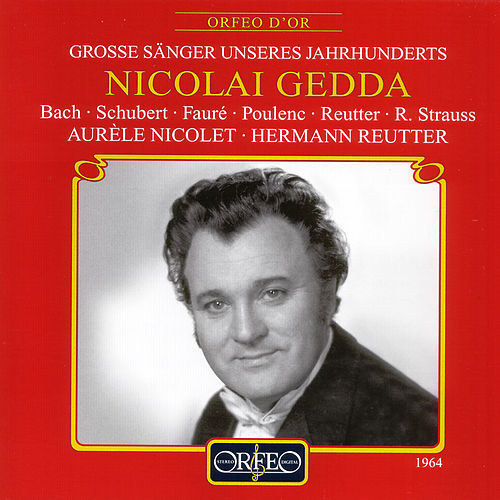 Play & Download Bach, Schubert, Fauré, Poulenc, Reutter & Strauss: Lieder by Nicolai Gedda | Napster