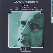 Webern: Lieder by Various Artists