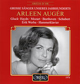 Gluck, Haydn, Mozart, Beethoven & Schubert: Lieder by Arleen Auger