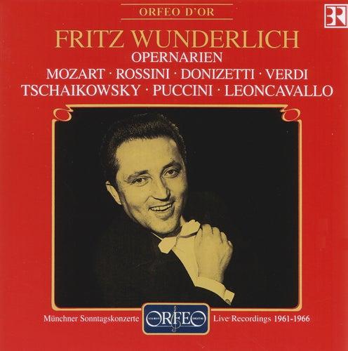 Play & Download Wunderlich: Opernarien (Bayerischer Rundfunk 1961-1966) - Mozart - Rossini - Donizetti - Verdi - Tschaikowsky - Puccini - Leoncavallo by Fritz Wunderlich | Napster