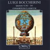 Boccherini: Wind Quartets, G. 262 & 263 by Consortium Classicum