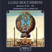 Play & Download Boccherini: Wind Quartets, G. 262 & 263 by Consortium Classicum | Napster